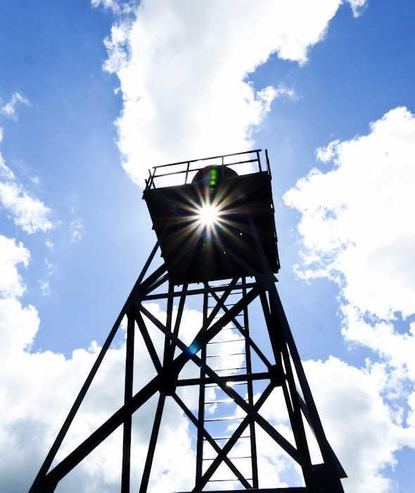 schokland zomer 2020 - lichttoren-in-de-haven-van-oud-emmeloord