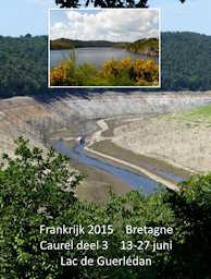 France 2015 photo album 5 - Lac de Guerlédan without water (la vidange)